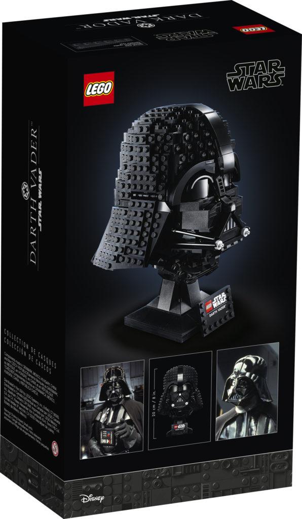 LEGO Star Wars 75304 Darth Vader Helmet 4