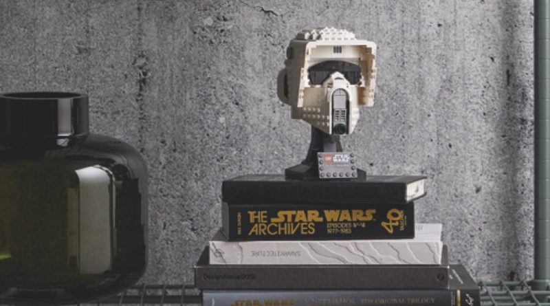 LEGO Star Wars 75305 Scout Trooper Helmet Featured 800x445
