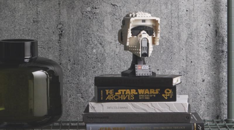 LEGO Star Wars 75305 Scout Trooper Helmet Featured