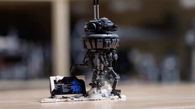 LEGO Star Wars 75306 Imperial Probe Droid First Look Featured 800x445