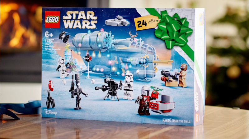 LEGO Star Wars 75307 Advent Calendar 2021 lifestyle resized featured