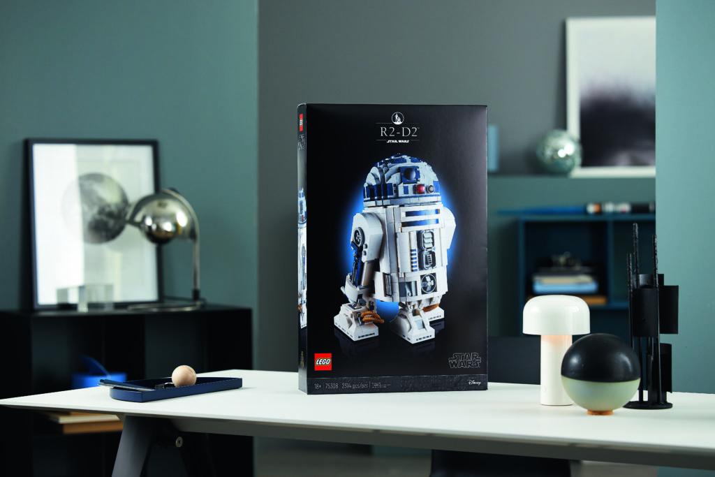 LEGO Star Wars 75308 R2 D2 13