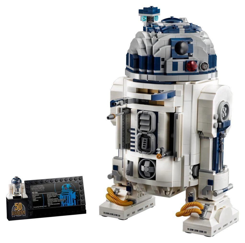 LEGO Star Wars 75308 R2 D2 14