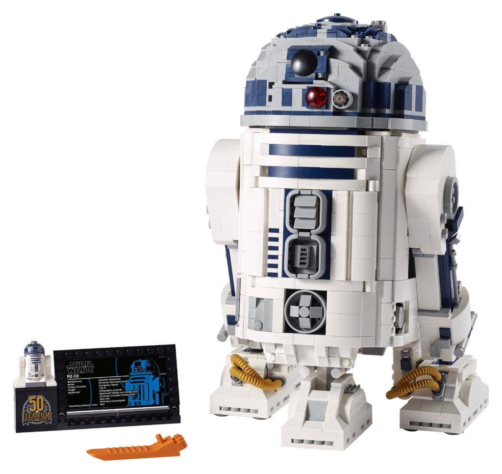 LEGO Star Wars 75308 R2 D2 3