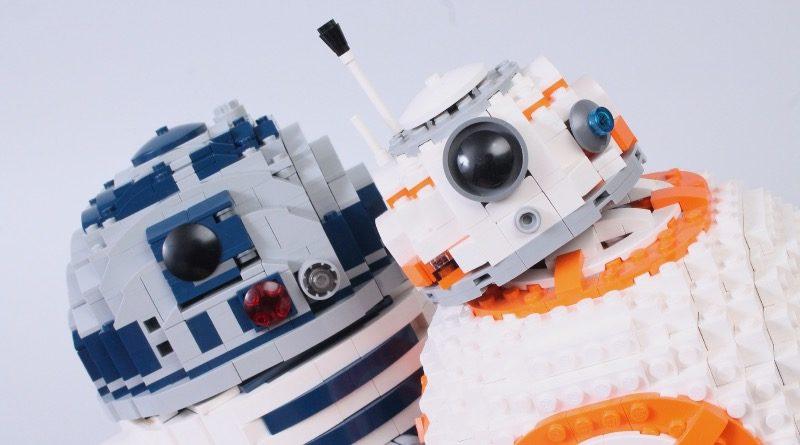 LEGO Star Wars 75308 R2 D2 75187 BB 8 comparison featured