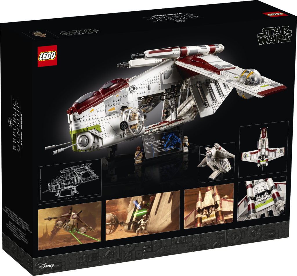 LEGO Star Wars 75309 Republic Gunship 2