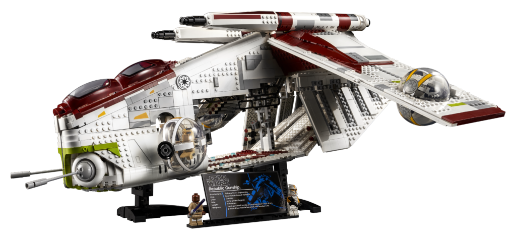LEGO Star Wars 75309 Republic Gunship 3