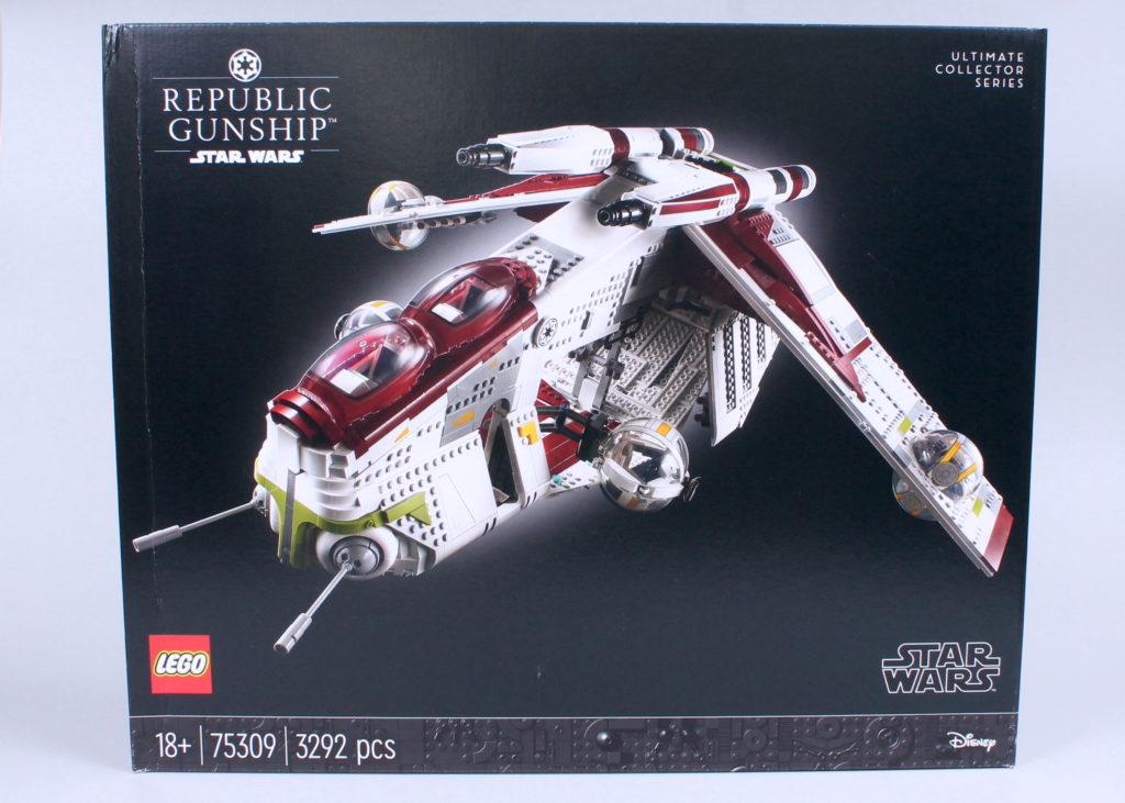 LEGO Star Wars 75309 Republic Gunship box error 3