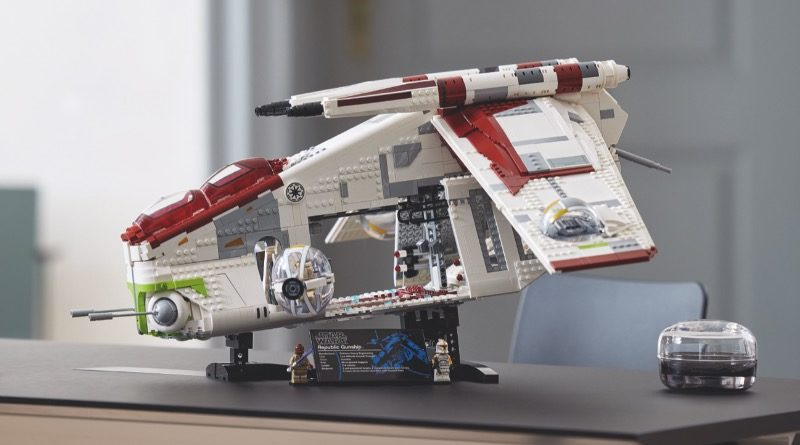 LEGO Star Wars 75309 Republic Gunship featured 1