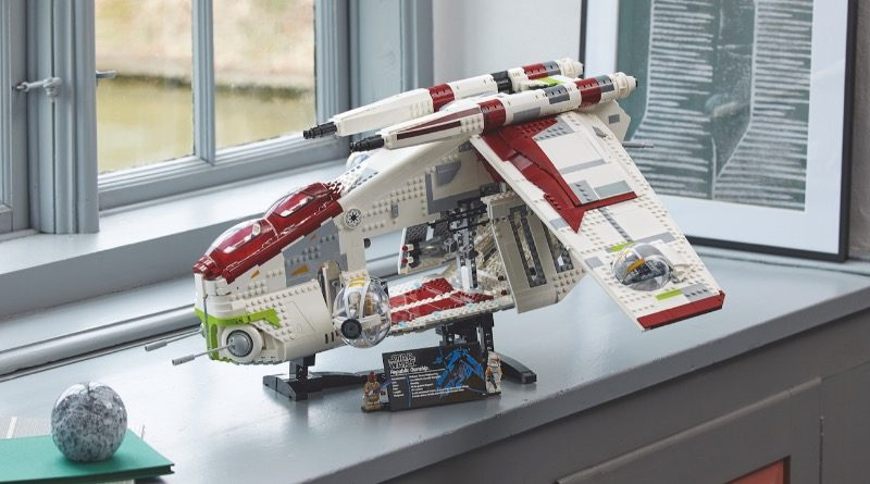 LEGO Star Wars 75309 Republic Gunship featured 7