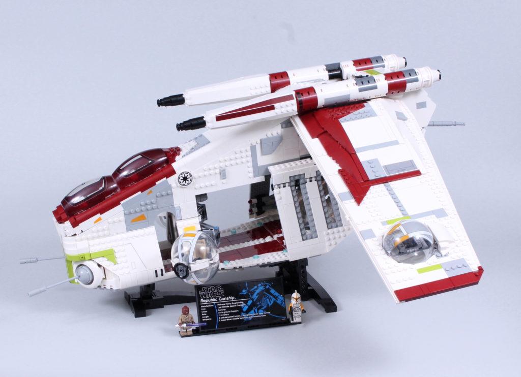 LEGO Star Wars 75309 Republic Gunship review 1