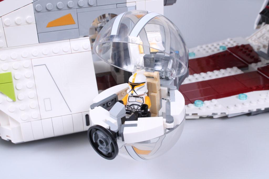 LEGO Star Wars 75309 Republic Gunship review 61