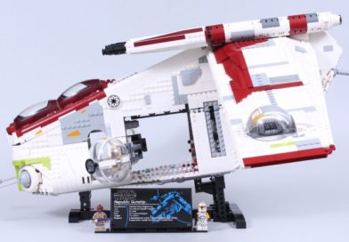 LEGO Star Wars 75309 Republic Gunship review –shouldering the expectations of 30,000 fans