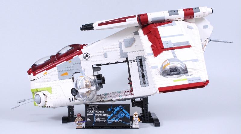 LEGO Star Wars 75309 Republic Gunship Review Featured 1