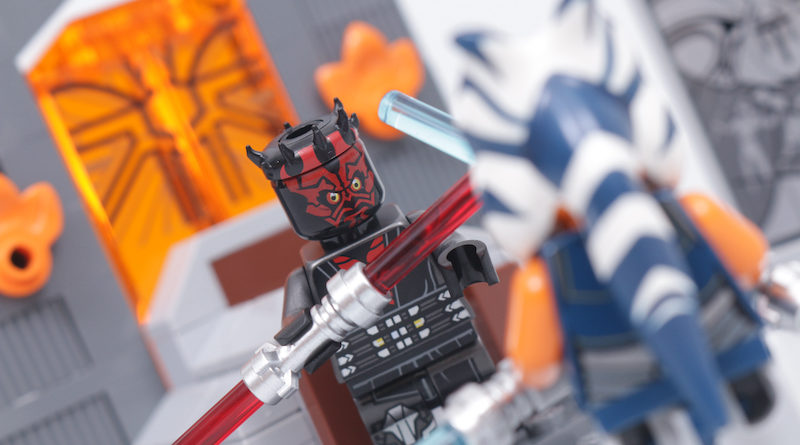 LEGO Star Wars 75310 Duel on Mandalore review title
