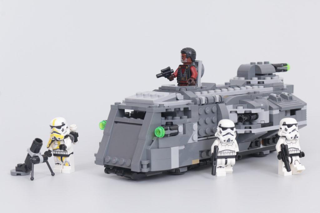 LEGO Star Wars 75311. 1 Imperial Armored Marauder მიმოხილვა
