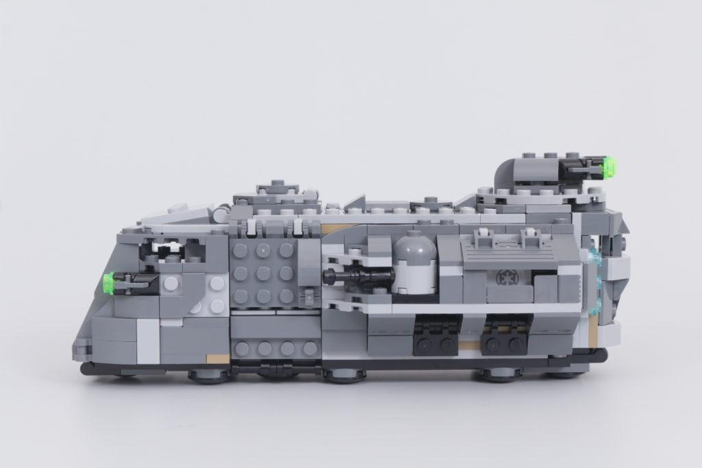 LEGO Star Wars 75311. 3 Imperial Armored Marauder მიმოხილვა