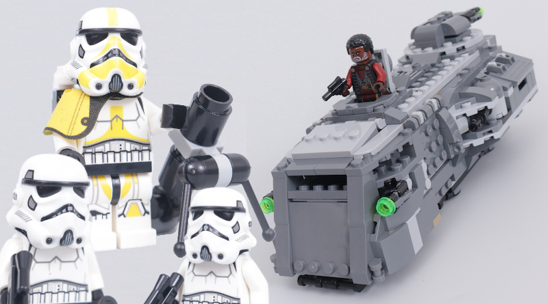 LEGO Star Wars 75311 Imperial Armored Marauder review title