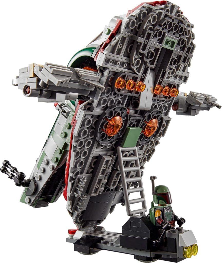 LEGO Star Wars 75312 Boba Fetts Starship 11