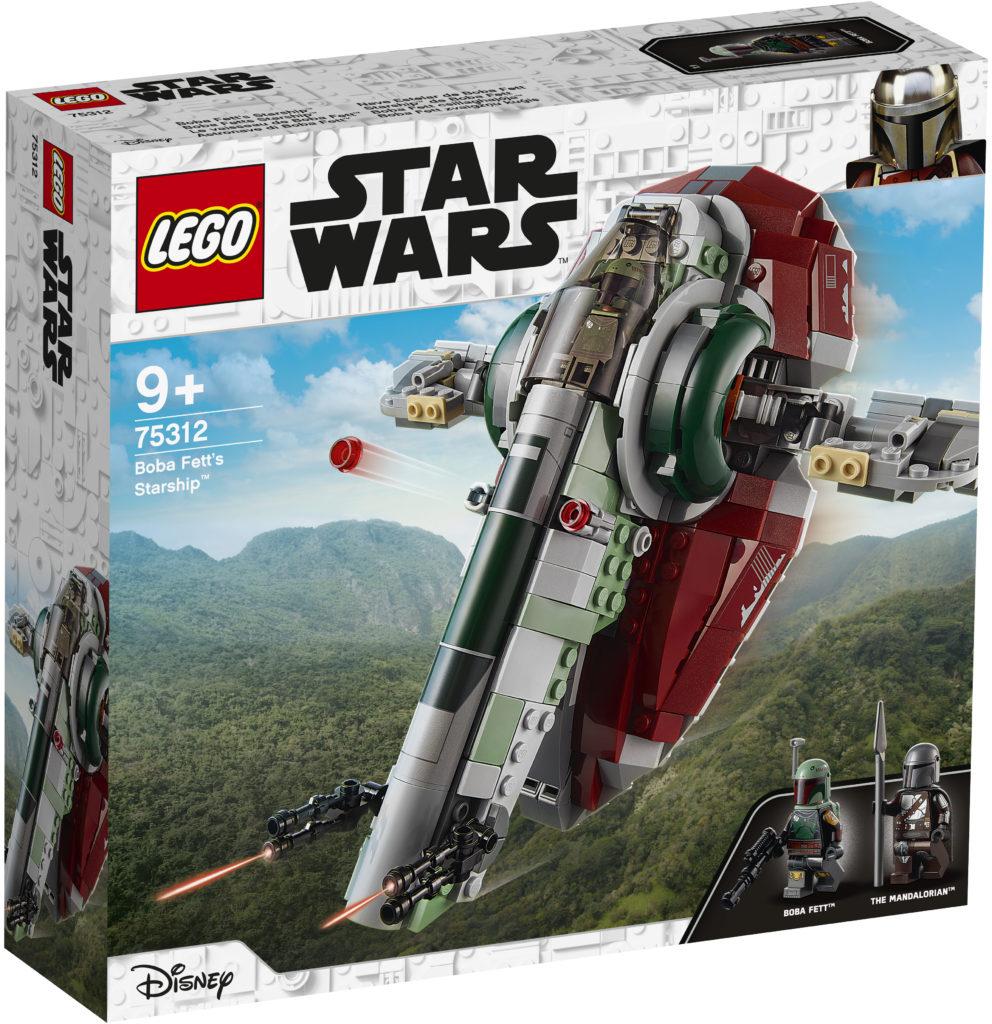 LEGO Star Wars 75312 Boba Fetts Starship 4
