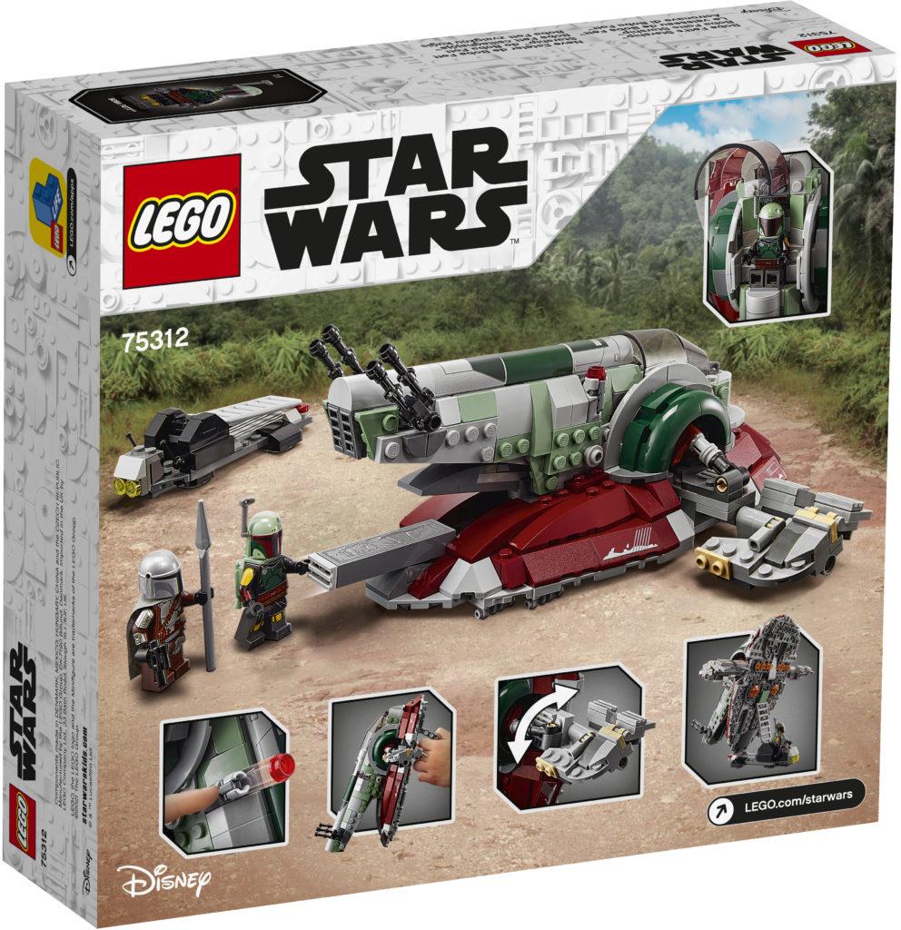 LEGO Star Wars 75312 Boba Fetts Starship 5