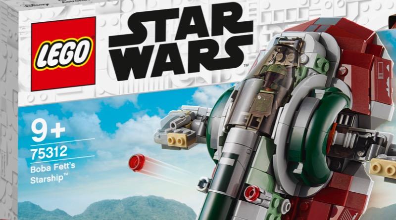 LEGO Star Wars 75312 Boba Fetts Starship Box Name