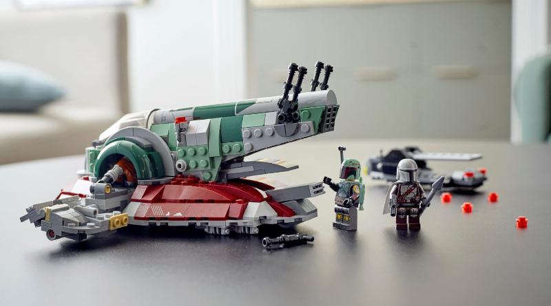 LEGO Star Wars 75312 Boba Fetts Starship lifestyle featured