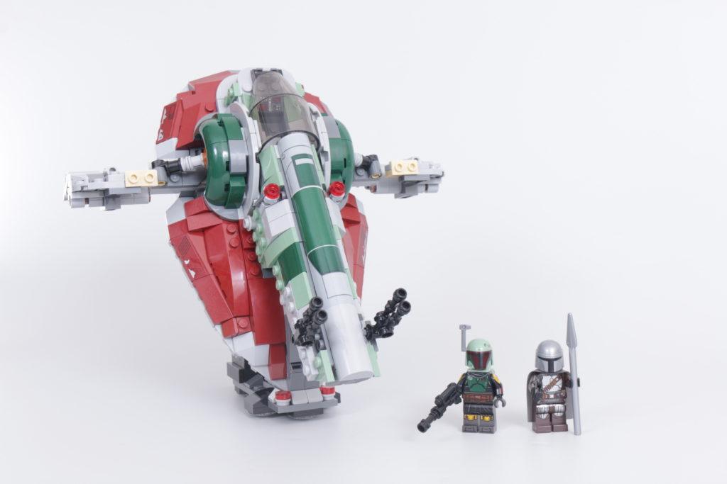 LEGO Star Wars 75312 Boba Fetts Starship review 1