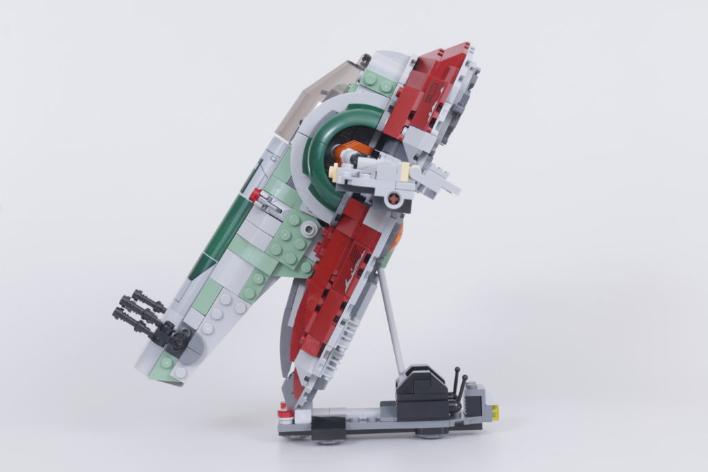 LEGO Star Wars 75312 Boba Fetts Starship review 10