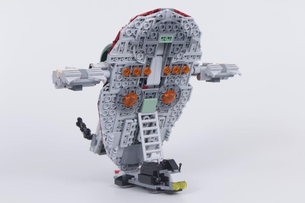 LEGO Star Wars 75312 Boba Fetts Starship review 11