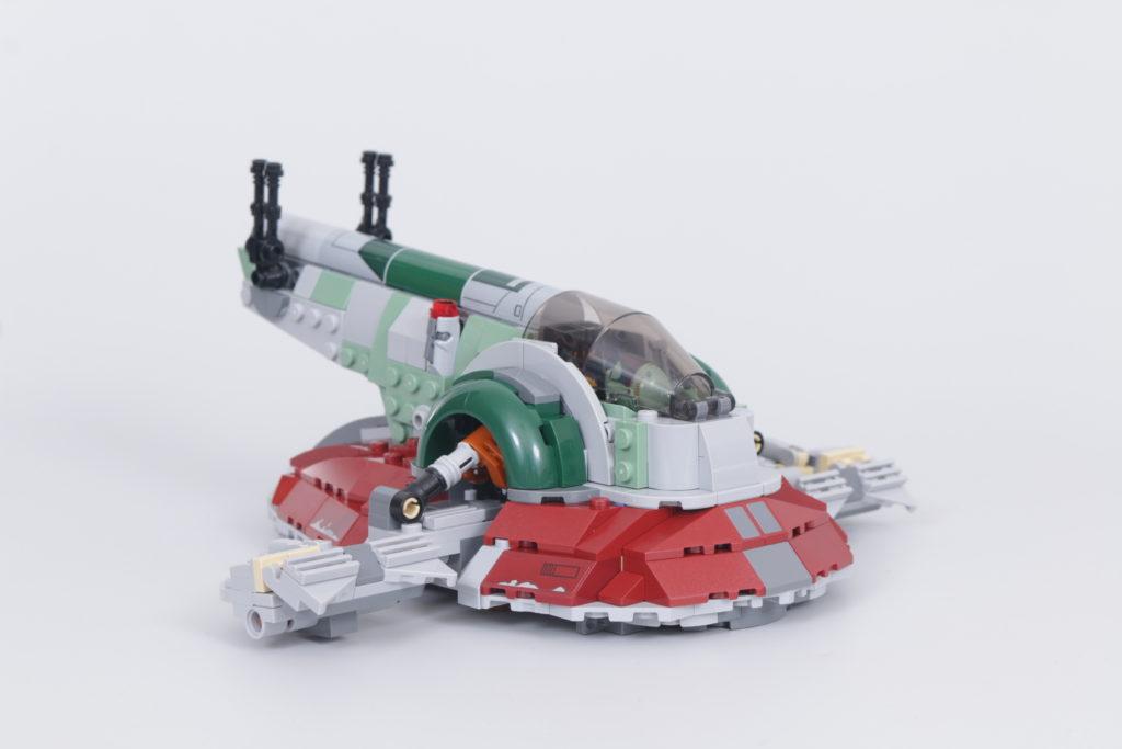 LEGO Star Wars 75312 Boba Fetts Starship review 12