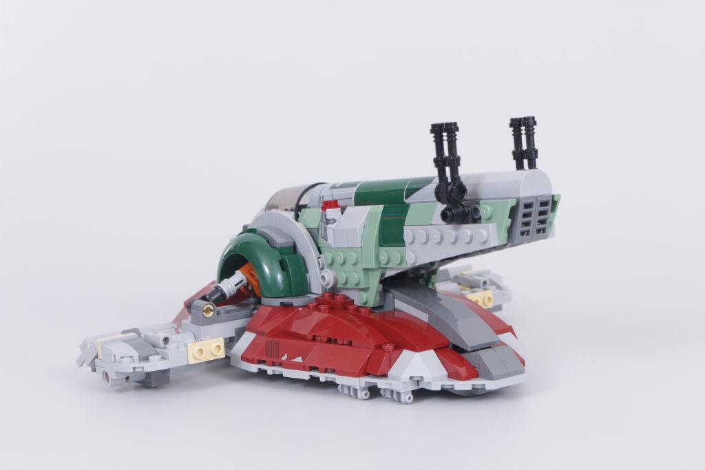 LEGO Star Wars 75312 Boba Fetts Starship review 14
