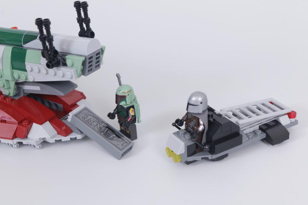 LEGO Star Wars 75312 Boba Fetts Starship review 15