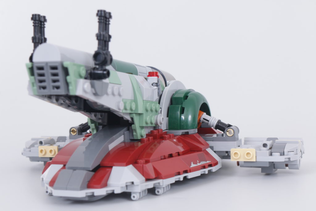 LEGO Star Wars 75312 Boba Fetts Starship review 16