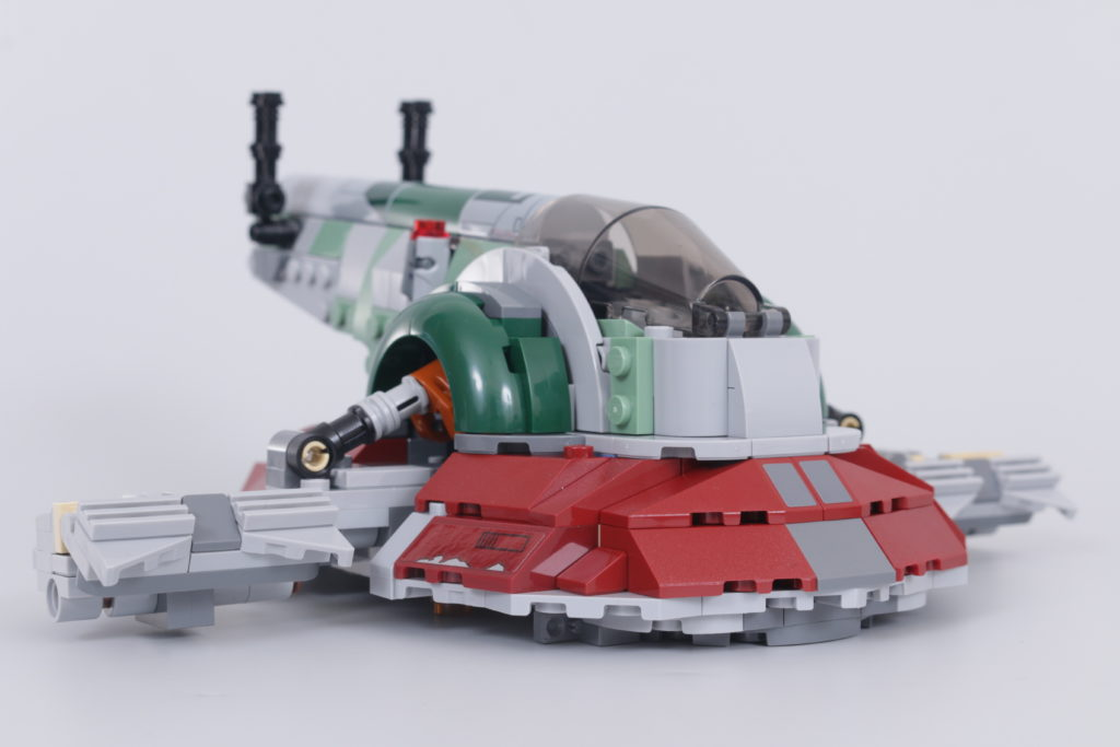 LEGO Star Wars 75312 Boba Fetts Starship review 17