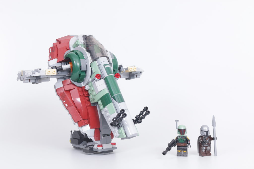 LEGO Star Wars 75312 Boba Fetts Starship review 2