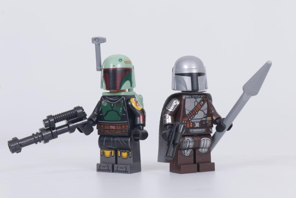 LEGO Star Wars 75312 Boba Fetts Starship review 21