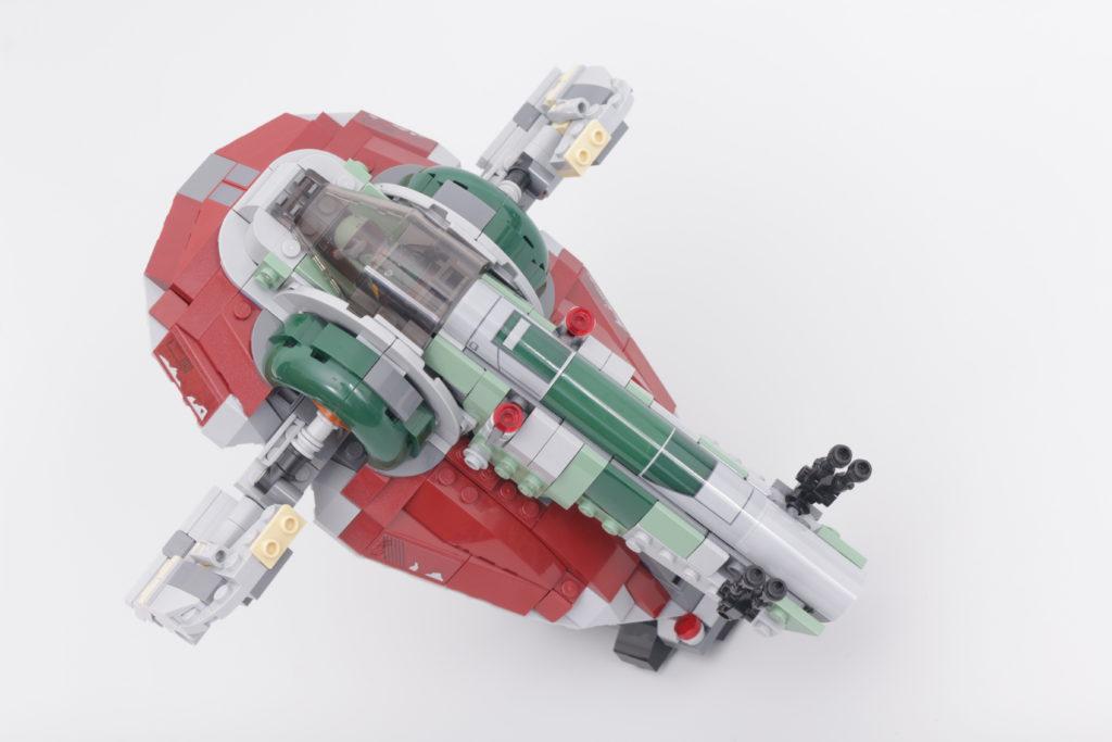 LEGO Star Wars 75312 Boba Fetts Starship review 22