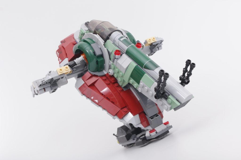 LEGO Star Wars 75312 Boba Fetts Starship review 23