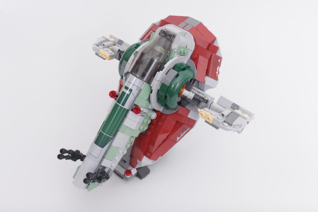 LEGO Star Wars 75312 Boba Fetts Starship review 24