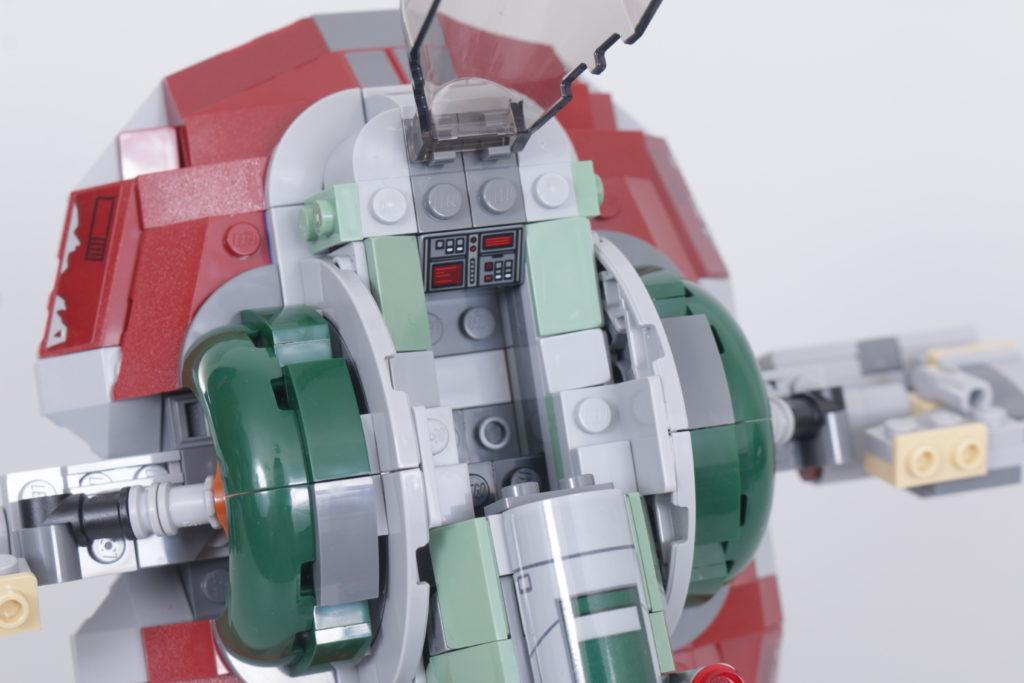 LEGO Star Wars 75312 Boba Fetts Starship review 3