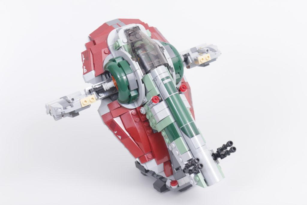 LEGO Star Wars 75312 Boba Fetts Starship review 39