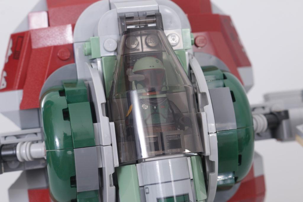 LEGO Star Wars 75312 Boba Fetts Starship review 4