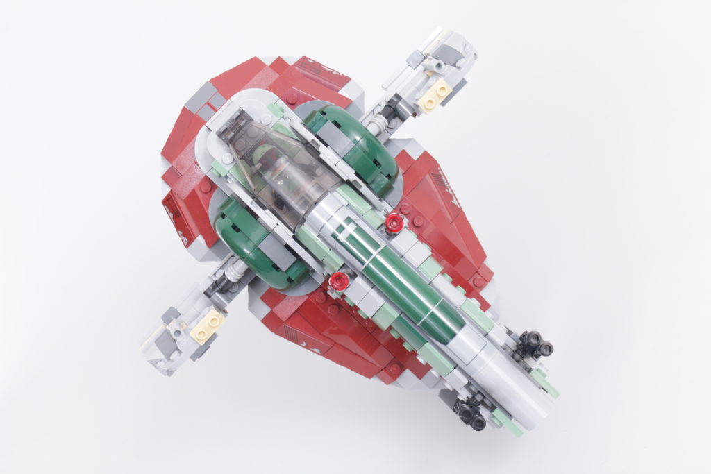 LEGO Star Wars 75312 Boba Fetts Starship review 40