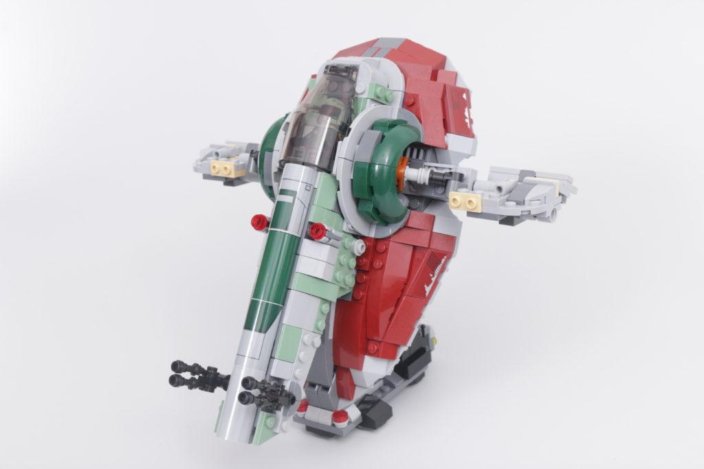 LEGO Star Wars 75312 Boba Fetts Starship review 41