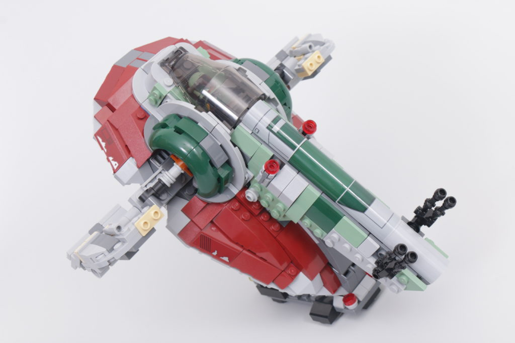 LEGO Star Wars 75312 Boba Fetts Starship review 42