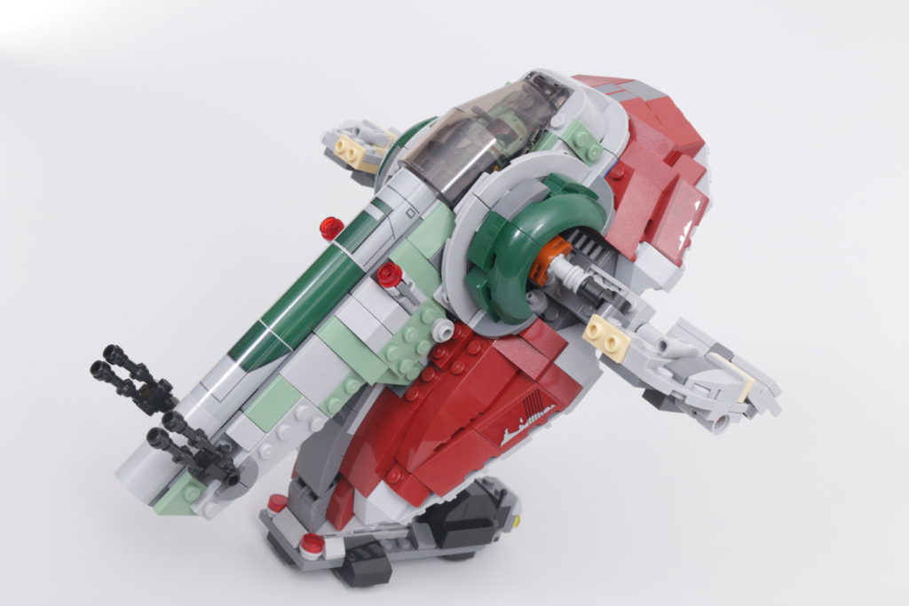 LEGO Star Wars 75312 Boba Fetts Starship review 43
