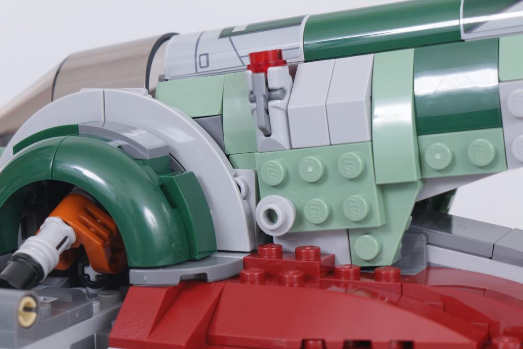 LEGO Star Wars 75312 Boba Fetts Starship review 6