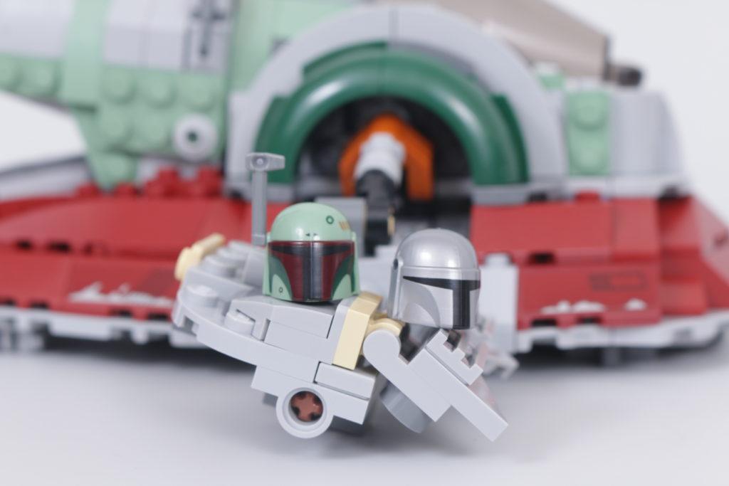 LEGO Star Wars 75312 Boba Fetts Starship review 7