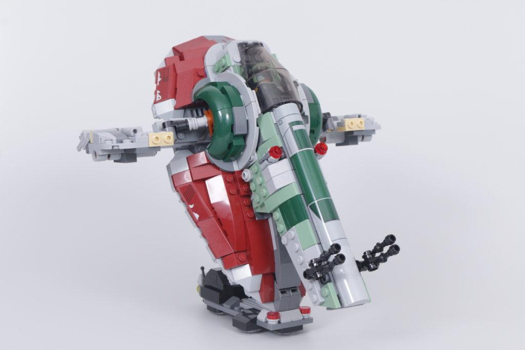 LEGO Star Wars 75312 Boba Fetts Starship review 8